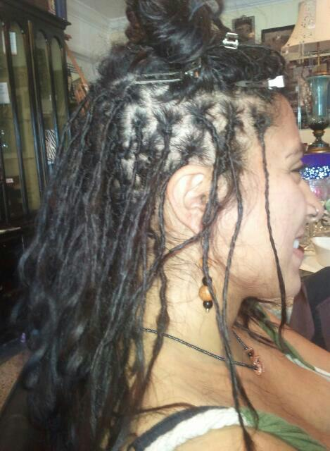 Caucasian Locs ALL NATURAL nothing added