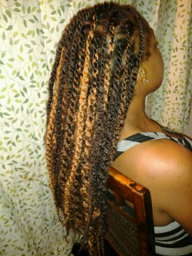 Twisted In Jumbo Rope Twists The Queen Of Locs 954 709 4931